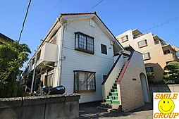 千葉県市川市入船の賃貸アパートの外観