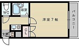 ベルヴィコート[3階]の間取り