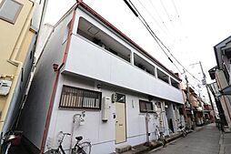 大阪府大阪市福島区海老江4丁目の賃貸アパートの外観
