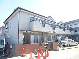 埼玉県草加市稲荷4の賃貸アパートの外観