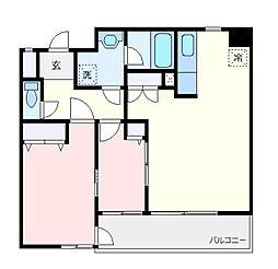 エスポワール青葉台C棟[2階]の間取り