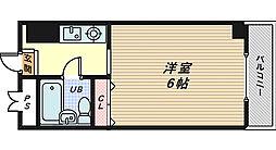 クレストコート[2階]の間取り