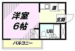 M.T小山[303号室]の間取り