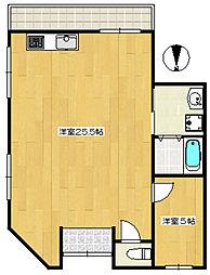 第7新井ビル[101号室]の間取り