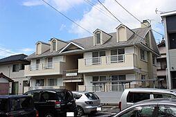 愛知県豊川市佐奈川町の賃貸アパートの外観
