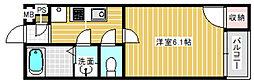 モダンアパートメント平野本町[2階]の間取り