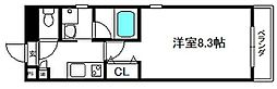 Sarasa御所東[1階]の間取り