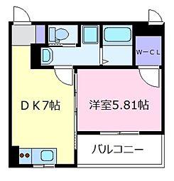 FSTYLE上田2号館[1階]の間取り