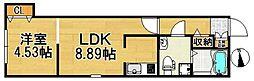 Casa di TAISHOKAN ov[3階]の間取り