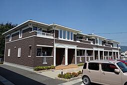 滋賀県近江八幡市武佐町の賃貸アパートの外観