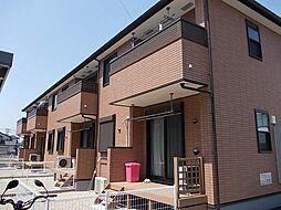 愛知県岡崎市中島町字井龍の賃貸アパートの外観