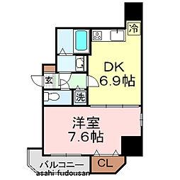KDXレジデンス元浅草[4階]の間取り