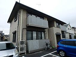 栃木県宇都宮市ゆいの杜2丁目の賃貸アパートの外観