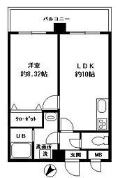 フォ−ラム大橋(606)[606号室]の間取り