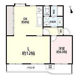 湘南西部住宅[5階]の間取り