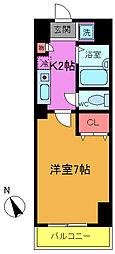 シャイロ本八幡[4階]の間取り