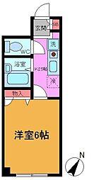 メゾンオータム[2階]の間取り
