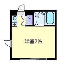 F・COURT[2階]の間取り