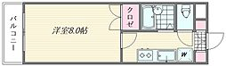 ピュア松香台[506号室]の間取り