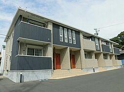 愛知県田原市福江町下地の賃貸アパートの外観