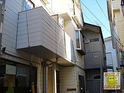 千葉県市川市東菅野4丁目の賃貸アパートの外観
