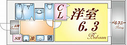 コスティエーロ須磨[1階]の間取り
