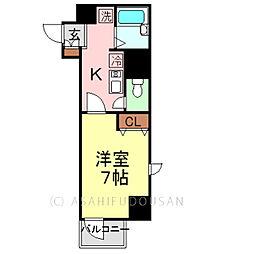 東林ビル[3階]の間取り