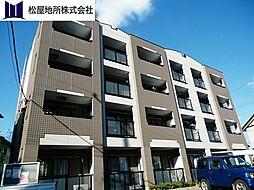 愛知県豊橋市佐藤2丁目の賃貸マンションの外観