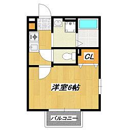 グレース青戸[2階]の間取り