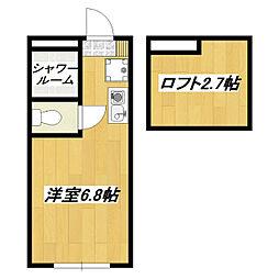 アパートメンツ東京西小岩[2階]の間取り