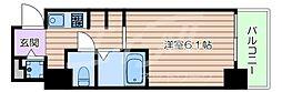 Osaka Metro長堀鶴見緑地線 玉造駅 徒歩2分の賃貸マンション 4階1Kの間取り