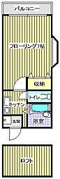 ドリーム野芥[1階]の間取り