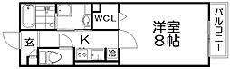 D-room牧野下島町[2階]の間取り