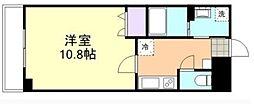 マリベール新倉敷[208号室]の間取り