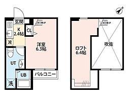 RESIDENCE ODASAGA(レジデンス オダサガ)[1階]の間取り