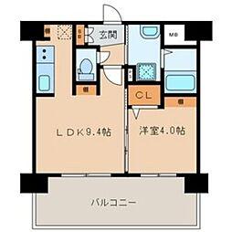 三島マンション博多駅東[205号室]の間取り