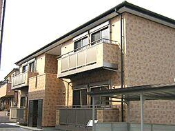 愛知県知立市牛田町の賃貸アパートの外観