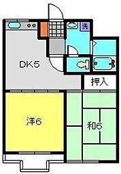 マキシムIK6[2階]の間取り