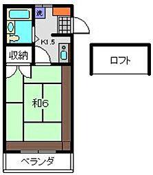 グレースハイツI[2階]の間取り