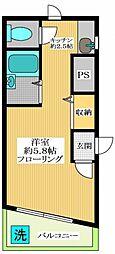 キザンパレス杉並[1階]の間取り