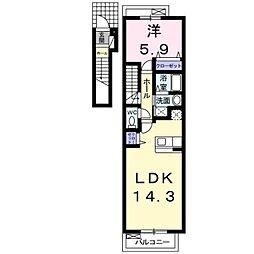 U−151 T1[2階]の間取り