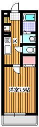 プレシアンス[1階]の間取り