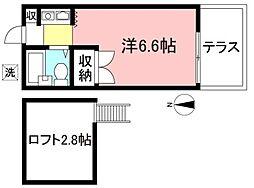 つつじヶ丘駅 3.8万円