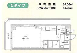 ネズバン桜坂[205号室]の間取り