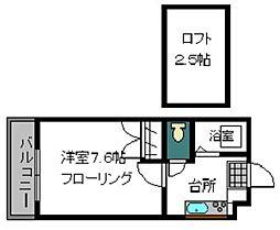 FJ−1[103号室]の間取り