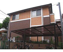 東京都三鷹市大沢6丁目の賃貸アパートの外観