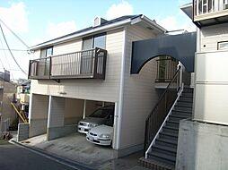 大阪府豊中市上野西2丁目の賃貸アパートの外観