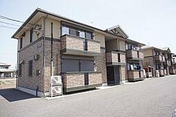 栃木県小山市大字外城の賃貸アパートの外観