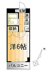 ベルビー川崎[2階]の間取り