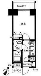 レジディア日本橋人形町II[4階]の間取り